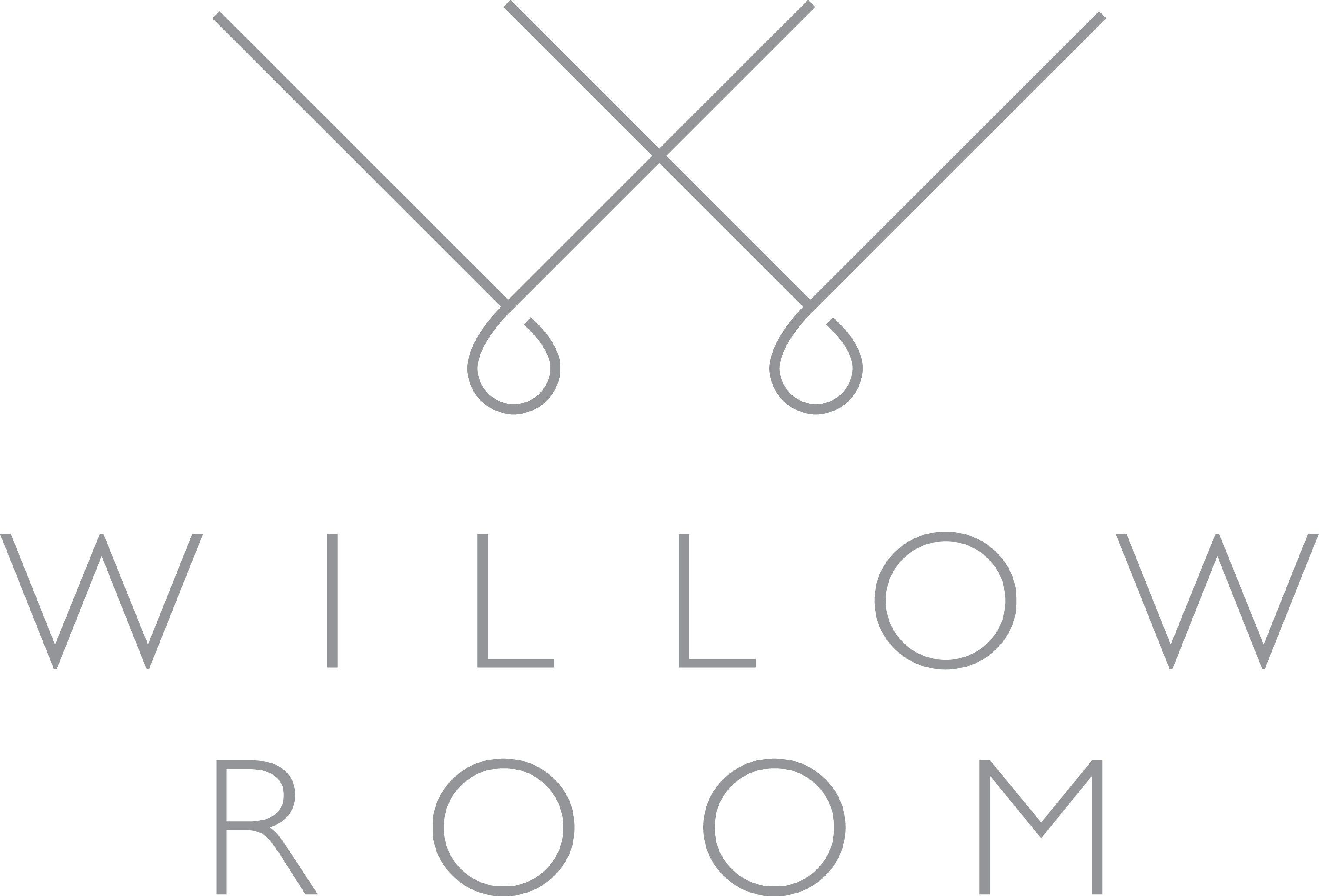 Willow Room - Logo - Grey